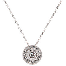 Buy Cachet London Swarovski Disc Pendant Online at johnlewis.com