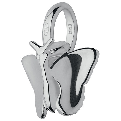 Buy Links of London Mini Butterfly Charm, Silver Online at johnlewis.com