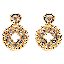 Buy Cachet London Swarovski Post Cut-Out Earrings Online at johnlewis.com