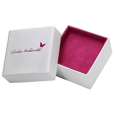 Buy Linda Macdonald Enchanted Silver Butterfly Stud Earrings Online at johnlewis.com