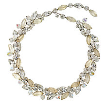 Buy Susan Caplan Vintage Bridal 1950s Kramer Crystal Leaf Necklace Online at johnlewis.com