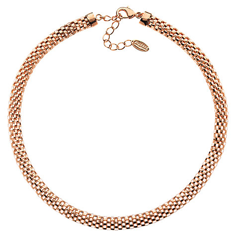 Buy Finesse Mesh Collar Necklace Online at johnlewis.com