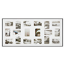 "Buy Nielsen Pixel Collage Multi-aperture Frame, 18 Photo, 4 x 6"" (10 x 15cm) Online at johnlewis.com"