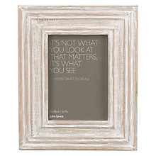 "Buy John Lewis Limed Wood Photo Frame, 5 x 7"" (13 x 18cm) Online at johnlewis.com"