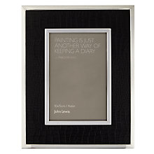 "Buy John Lewis Amer Photo Frame, Black, 4 x 6"" (10 x 15cm) Online at johnlewis.com"