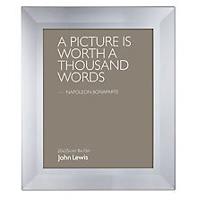 "Buy John Lewis Smoked Glass Photo Frame, 8 x 10"" (20 x 25cm) Online at johnlewis.com"