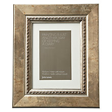 "Buy John Lewis Distressed Bead Photo Frame with Mount, Gold, 4 x 6"" (10 x 15cm) Online at johnlewis.com"