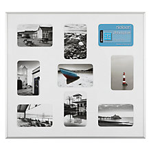 "Buy Nielsen Pixel Collage Multi-aperture Frame, 9 Photo, 4 x 6"" (10 x 15) Online at johnlewis.com"