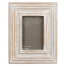 "Buy John Lewis Limed Wood Photo Frame, 4 x 6"" (10 x 15cm) Online at johnlewis.com"