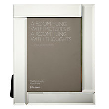 "Buy John Lewis Deco Glass Photo Frame, 6 x 8"" (15 x 20cm) Online at johnlewis.com"