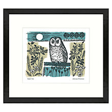 Buy Adelene Fletcher - Night Owl Framed Print, 49 x 44cm Online at johnlewis.com