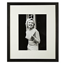 Buy Getty Images Gallery Happy Marilyn Monroe Framed Print, 50 x 57cm Online at johnlewis.com