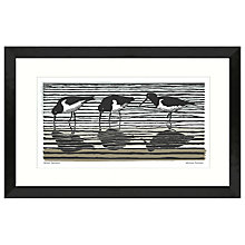 Buy Adelene Fletcher - Oyster Catchers Framed Print, 52 x 79cm Online at johnlewis.com