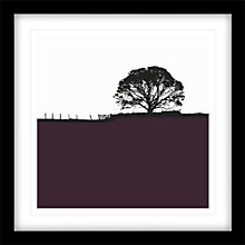 Buy Jacky Al-Samarraie - Grassington Framed Print, 54 x 54cm Online at johnlewis.com