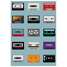 Buy House by John Lewis, Jeremy Harnell - Mixtapes Unframed Print, 70 x 50cm Online at johnlewis.com