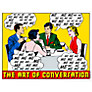 House by John Lewis, Clay Sinclair - The Art Of Conversation Unframed Print, 40 x 30cm