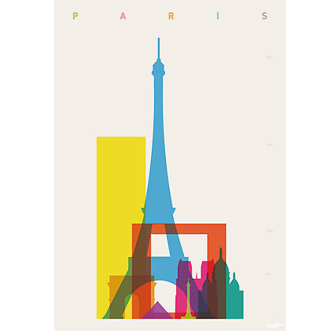 Buy House by John Lewis, Yoni Alter Paris Unframed Print, 30 x 24cm Online at johnlewis.com
