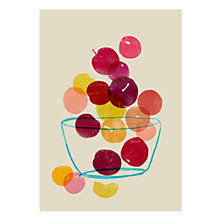 Buy House by John Lewis, Ana Petrak - Plums Unframed Print, 40 x 30cm Online at johnlewis.com
