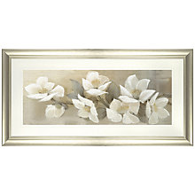 Buy Adelene Fletcher - Linen Cascade Framed Print, 59 x 110cm Online at johnlewis.com