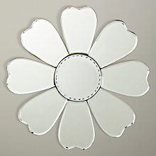 Buy Decorative Flower Mirror, Dia.30cm Online at johnlewis.com
