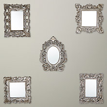 Buy Gallery Direct Cordova Scatter Mirrors, Set of 5 Online at johnlewis.com