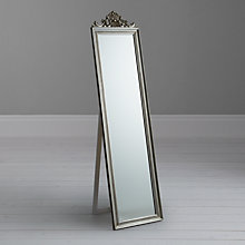 Buy Pimlico Cheval Mirror, Silver, 180.5 x 46cm Online at johnlewis.com