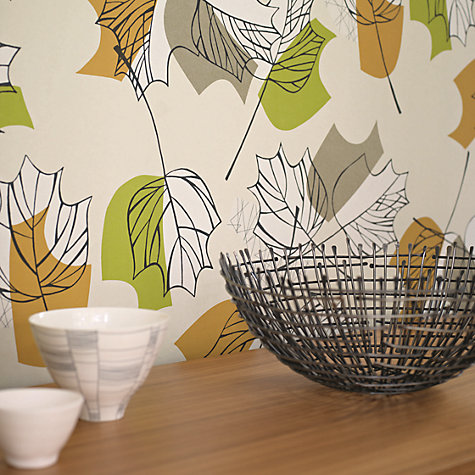 Buy Sanderson Maple Wallpaper Online at johnlewis.com