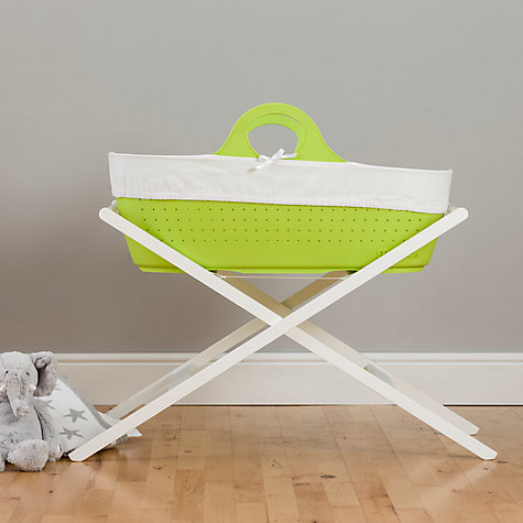 Buy John Lewis Moses Basket Mattress, L70 x W29cm Online at johnlewis.com
