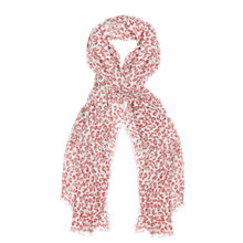 Buy Seraphine Leo Scarf, Coral Online at johnlewis.com