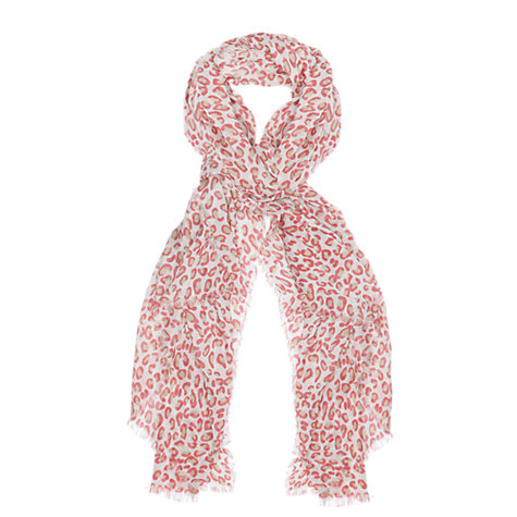 Buy Séraphine Leo Scarf, Coral Online at johnlewis.com