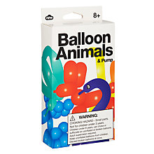 Buy Balloon Animals and Pump Online at johnlewis.com