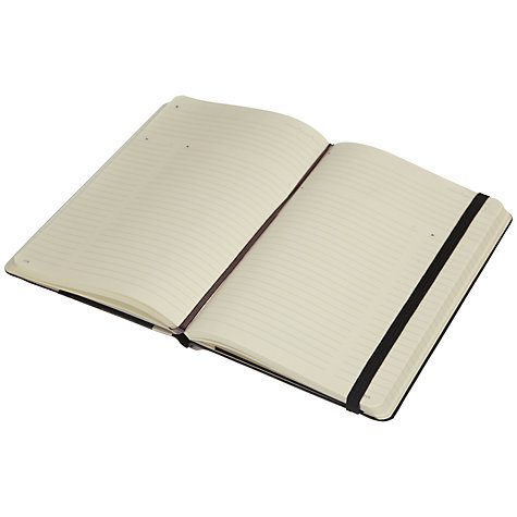 Buy Moleskine Professional Large Notebook, Black Online at johnlewis.com