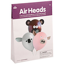 Buy Airhead Animal Balloons, Pack of 6 Online at johnlewis.com