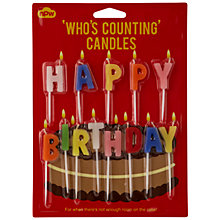 Buy Who's Counting Birthday Candles, Set of 13 Online at johnlewis.com