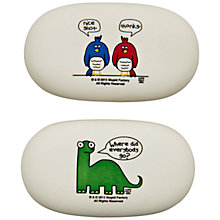 Buy Stupid Factory Chunky Eraser, Assorted Online at johnlewis.com