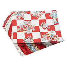 Buy Cath Kidston Daisy Rose Check Napkins, Pack of 20 Online at johnlewis.com