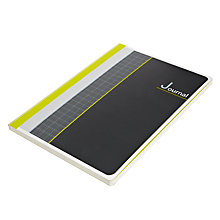 Buy John Lewis Graph Set A4 Notebook, Grey Online at johnlewis.com