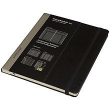 Buy Moleskine Professional Extra Large Notebook, Black Online at johnlewis.com