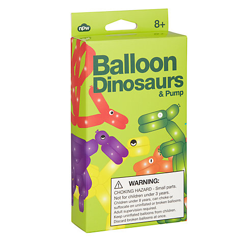 Buy Balloon Dinosaurs and Pump Online at johnlewis.com