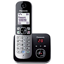Buy Panasonic KX-TG6821 Digital Telephone and Answering Machine, Single DECT Online at johnlewis.com
