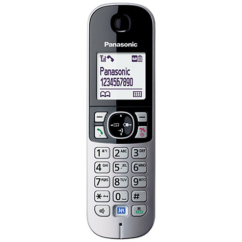 Buy Panasonic KX-TG6813 Digital Telephone, Trio DECT Online at johnlewis.com