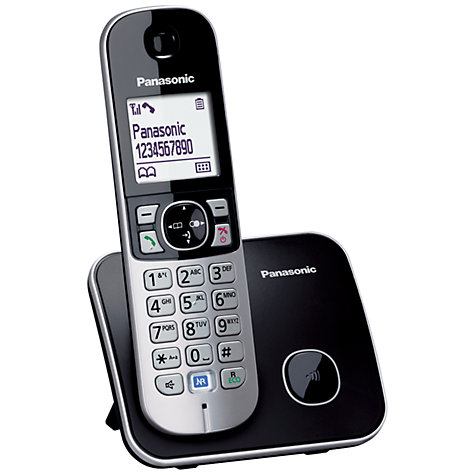 Buy Panasonic KX-TG6811 Digital Telephone, Single DECT Online at johnlewis.com