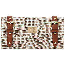 Buy Dune Wetlook Snake Print Purse Online at johnlewis.com