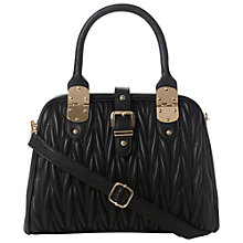 Buy Dune Dilted Quilted Structured Frame Shoulder Bag Online at johnlewis.com