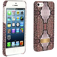 Buy Ted Baker Hanne Snakeskin Print Case for iPhone 5 Online at johnlewis.com