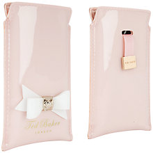 Buy Ted Baker Jakkie Bow iPhone 5 Case Online at johnlewis.com