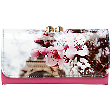 Buy Ted Baker Vappu Floral Purse, Pink Online at johnlewis.com