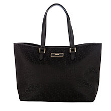 Buy DKNY Town and Country Saffiano Shopper Handbag, Black Online at johnlewis.com