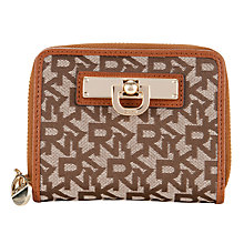 Buy DKNY Town And Country Vintage Small Carry-All Purse, Chino / Caramel Online at johnlewis.com