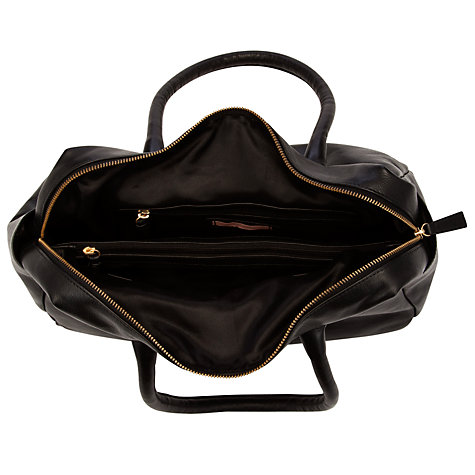 Buy John Lewis Georgie Large Grab Handbag, Black Online at johnlewis.com